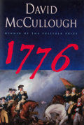 Books:Signed Editions, David McCullough. SIGNED. 1776. New York: Simon & Schuster, [2005]. First edition, first printing. Signed. Octav...