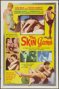 """The Skin Game (William Mishkin Motion Pictures Inc., 1965). One Sheet (27"""" X 41""""). Sexploitation"""