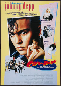 "Cry-Baby (Universal, 1990). German A1 (23.25"" X 32.75""). Comedy"
