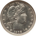 Barber Quarters: , 1908-D 25C MS64 NGC. NGC Census: (48/26). PCGS Population (48/31).Mintage: 5,788,000. Numismedia Wsl. Price for problem fr...