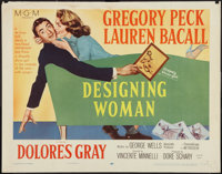 """Designing Woman (MGM, 1957). Half Sheets (2) (22"""" X 28""""). Styles A & B. Comedy. ... (Total: 2 Items)"""