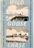 Books:First Editions, Coombe Richards. Wild Goose Chase. London: Home & VanThal, 1948. First edition. Octavo. Publisher's binding and...