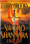 Books:Signed Editions, Terry Brooks. INSCRIBED. The Sword of Shannara Trilogy. New York: Ballantine Books, [2002]. First edition, first pri...
