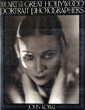 Books:First Editions, John Kobal. The Art of the Great Hollywood PortraitPhotographers 1925-1940. New York: Knopf, 1980. First edition,f...