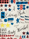 Books:First Editions, Andy Warhol. A Coloring Book. New York: Simon and Schuster,[1990]. First edition, first printing. Folio. Publisher'...