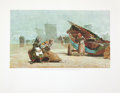 Antiques:Posters & Prints, Winslow Homer. Four Wonderful Color Reproduction Prints. [NewYork]: Time-Life Books, 1966. Minor wrinkling to borders. Hous...(Total: 4 Items)