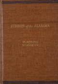Books:First Editions, W. Adolphe Roberts. Semmes of the Alabama. Indianapolis:Bobbs-Merrill, [1938]. First edition. Octavo. Publisher's b...
