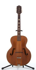 Musical Instruments:Acoustic Guitars, Vintage Harmony Patrician Natural Archtop Acoustic Guitar #N/A....