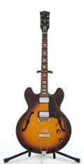Musical Instruments:Electric Guitars, Vintage Gibson ES-335TD Sunburst Project Electric Semi-Hollow BodyGuitar #N/A...
