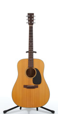 Musical Instruments:Acoustic Guitars, 1973 Martin D-18 Natural Acoustic Guitar #318353....