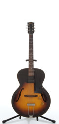 Musical Instruments:Electric Guitars, 1947 Gibson ES-125 Sunburst Archtop Electric Guitar, #N/A....