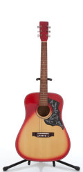 Musical Instruments:Acoustic Guitars, No Name Hummingbird Copy Cherryburst Acoustic Guitars, #N/A....