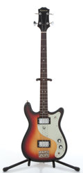 Musical Instruments:Bass Guitars, Epiphone 4-String Sunburst Electric Bass Guitar # N/A....