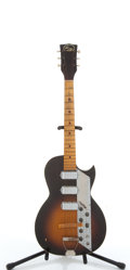 Musical Instruments:Electric Guitars, Vintage Kay Solid Body Electric Guitar # N/A....