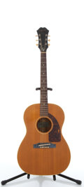 Musical Instruments:Acoustic Guitars, Vintage Epiphone FT45 Cortez Natural Acoustic Guitar #854628....