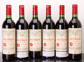 Red Bordeaux, Chateau Petrus 1982 . Pomerol. 1lscl, 1lbsl, 2sdc. Bottle(6). ... (Total: 6 Btls. )