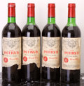 Red Bordeaux, Chateau Petrus 1978 . Pomerol. 1bn, 1vhs, 1hs, 3bsl, 2ltal. Bottle (4). ... (Total: 4 Btls. )