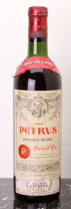 Red Bordeaux, Chateau Petrus 1959 . Pomerol. ts, lbsl, excellent color and condition. Bottle (1). ... (Total: 1 Btl. )