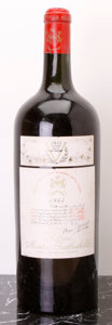 Red Bordeaux, Chateau Mouton Rothschild 1945 . Pauillac. ts. Magnum (1).... (Total: 1 Mag. )