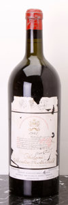 Red Bordeaux, Chateau Mouton Rothschild 1947 . Pauillac. hs, ltal. Magnum(1). ... (Total: 1 Mag. )