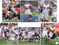 Football Collectibles:Photos, New York Giants Super Bowl XLII Champion Signed Photographs Lot of 6....