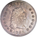 Early Dollars, 1795 $1 Flowing Hair, Two Leaves, B-2, BB-20, R.3 MS65 NGC....