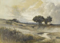 Fine Art - Painting, American:Modern  (1900 1949)  , R.O. ANTHONY (American, Late Nineteenth/Early Twentieth Century).Landscape. Mixed media on paper. Signed to lower left...