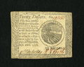 Colonial Notes:Continental Congress Issues, Continental Currency September 26, 1778 $20 Choice About New. Avery light corner tip fold is seen on this tightly margined ...