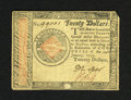 Colonial Notes:Continental Congress Issues, Continental Currency January 14, 1779 $20 Very Fine. A decentexample of this somewhat scarcer lower denomination note....