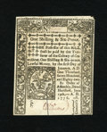 Colonial Notes:Connecticut, Connecticut June 19, 1776 1s/6d SC Very Choice New. Superb printing and cavernous embossing are found on this slash cancelle...