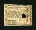 Colonial Notes:Massachusetts, Massachusetts May 5, 1780 $2 Choice About New. A small hole cancelis found on this boldly signed and lightly circulated Mas...