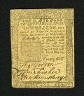 Colonial Notes:Pennsylvania, Pennsylvania May 20, 1758 20s Very Fine. A very nice example of this Ben Franklin issue that has much better print quality a...