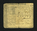Colonial Notes:Pennsylvania, Pennsylvania March 10, 1769 5s Fine-Very Fine. A much scarcer notefound in a typical condition. The technical grade is Ver...