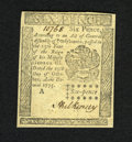 Colonial Notes:Pennsylvania, Pennsylvania October 25, 1775 6d Choice New. A couple of smallcorner pinholes are found on this crisp and well margined sma...