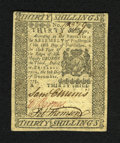 Colonial Notes:Pennsylvania, Pennsylvania December 8, 1775 30s Choice New. But for the top margins being trimmed into the design this note would otherwis...