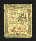 Colonial Notes:Pennsylvania, Pennsylvania April 25, 1776 40s About New. A lightly circulatedexample of this columned issue that is very well margined an...