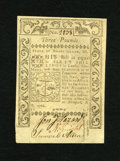 Colonial Notes:Rhode Island, Rhode Island May 1786 L3 Choice About New. A very lightlycirculated and broadly margined example of this scarcerdenominati...