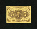 Fractional Currency:First Issue, Fr. 1230 5c First Issue Gem New. A well margined and bright example of this type that should please its new owner.. From T...