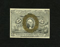 """Fractional Currency:Second Issue, Fr. 1285 25c Second Issue Choice New. An exceptional example of this deceptively scarce number with """"A-18-63"""" surcharges.. ..."""