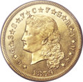 Proof Four Dollar Gold Pieces, 1879 $4 PR63 Cameo PCGS Secure. CAC. Judd-1635, Pollock-1833,R.3....