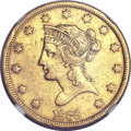 Liberty Eagles, 1838 $10 -- Improperly Cleaned -- NGC Details. XF....