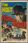 "Movie Posters:Western, Fighting Frontier (RKO, 1942). One Sheet (27"" X 41""). Western.. ..."