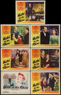 """Movie Posters:Drama, Watch on the Rhine (Warner Brothers, 1943). Title Lobby Card andLobby Cards (6) (11"""" X 14""""). Drama.. ... (Total: 7 Items)"""