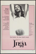 """Movie Posters:Sexploitation, Inga Lot (Cinemation Industries, 1968). One Sheets (2) (27"""" X 41"""").Sexploitation.. ... (Total: 2 Items)"""