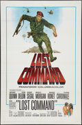 "Movie Posters:War, Lost Command Lot (Columbia, 1966). One Sheets (4) (27"" X 41"").War.. ... (Total: 4 Items)"