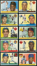 Baseball Cards:Sets, 1955 Topps Baseball Collection (128 Different). ...