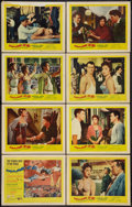 "Movie Posters:Drama, Trapeze (United Artists, 1956). Lobby Card Set of 8 (11"" X 14""). Drama.. ... (Total: 8 Items)"