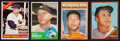 Baseball Cards:Lots, 1962 Topps Through 1966 Topps Mickey Mantle Collection (4). ...