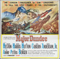 "Movie Posters:Western, Major Dundee (Columbia, 1965). Six Sheet (81"" X 81""). Western.. ..."
