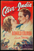 "Movie Posters:Adventure, Clive of India (United Artists, 1935). Pressbook (20 Pages, 12"" X18""). Adventure.. ..."